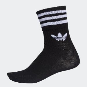 返品可 アディダス公式 アクセサリー ソックス adidas 3足組み ミッドカットソックス/靴下|adidas