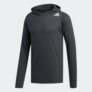 全品ポイント15倍 09/13 17:00〜09/17 16:59 返品可 アディダス公式 ウェア トップス adidas M4T フリーリフト フーディーロングスリーブTシャツ|adidas