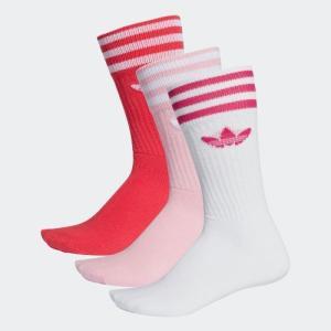 セール価格 アディダス公式 アクセサリー ソックス adidas ソリッド クルーソックス|adidas