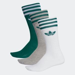 ハーフクッションのフットベッドが快適な履き心地のSolid Crew Socks。 程よい伸縮性のコ...