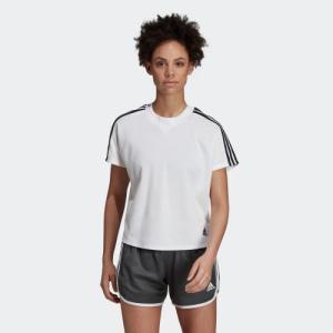 全品送料無料! 08/14 17:00〜08/22 16:59 セール価格 アディダス公式 ウェア トップス adidas W ID ダブルニットTシャツ|adidas