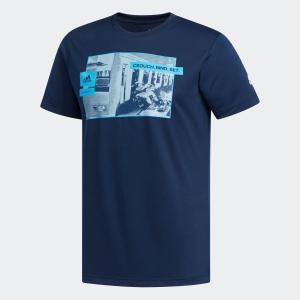 返品可 アディダス公式 ウェア トップス adidas スクラムトレイン Tシャツ|adidas