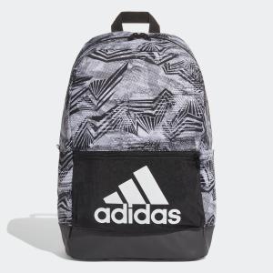 返品可 アディダス公式 アクセサリー バッグ adidas クラシックロゴバックパック AOP|adidas
