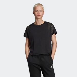 全品送料無料! 08/14 17:00〜08/22 16:59 返品可 アディダス公式 ウェア トップス adidas W ID メッシュ Tシャツ adidas