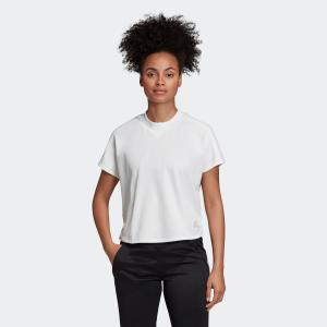 返品可 アディダス公式 ウェア トップス adidas W ID ダブルニット Tシャツ|adidas
