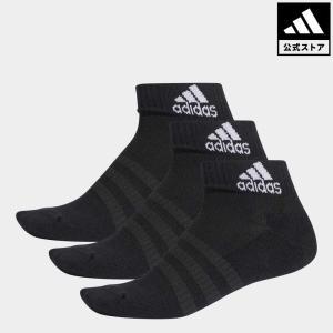 返品可 アディダス公式 アクセサリー ソックス adidas クッション アンクル ソックス 3足組み [Cushioned Ankle Socks 3 Pairs]
