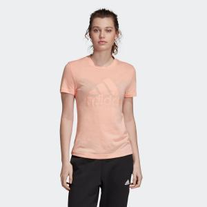 全品送料無料! 08/14 17:00〜08/22 16:59 返品可 アディダス公式 ウェア トップス adidas W MH エンボス レギュラー Tシャツ|adidas