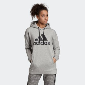 全品送料無料! 08/14 17:00〜08/22 16:59 返品可 アディダス公式 ウェア トップス adidas W MH ビッグロゴ スウェットプルオーバー フーディー adidas