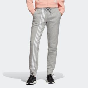 返品可 アディダス公式 ウェア ボトムス adidas W MH 3ストライプス ダブルニット パンツ|adidas