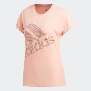 全品ポイント15倍 7/11 17:00〜7/16 16:59 返品可 アディダス公式 ウェア トップス adidas W M4T BOS ロゴ Tシャツ|adidas
