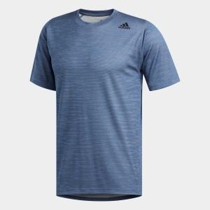全品ポイント15倍 09/13 17:00〜09/17 16:59 返品可 アディダス公式 ウェア トップス adidas M4Tフリーリフト フィッティドストライプヘザーTシャツ|adidas