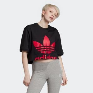 返品可 アディダス公式 ウェア トップス adidas CROPPED TEE|adidas
