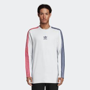 セール価格 アディダス公式 トップス 長袖 adidas LS STRIPE TEE adidas