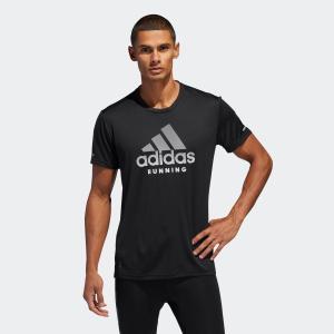 返品可 アディダス公式 ウェア トップス adidas RUN logo 半袖TシャツM|adidas