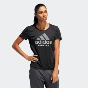 34%OFF アディダス公式 ウェア トップス adidas RUN logo 半袖TシャツW|adidas