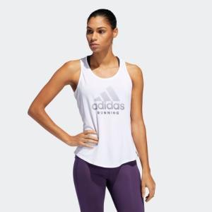 返品可 アディダス公式 ウェア トップス adidas RUN logo W tank|adidas
