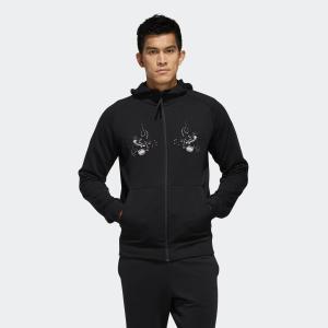 返品可 送料無料 アディダス公式 ウェア トップス adidas オールブラックス 日本限定スカジャン風スウェット p0924|adidas