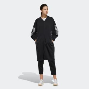 返品可 送料無料 アディダス公式 ウェア トップス adidas W ID フリース ロングジャケット|adidas