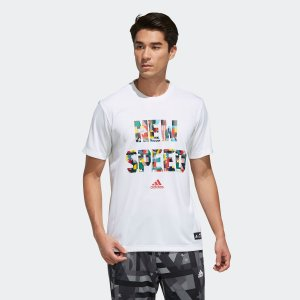 全品ポイント15倍 09/13 17:00〜09/17 16:59 返品可 アディダス公式 ウェア トップス adidas 5T NEW SPEED T|adidas