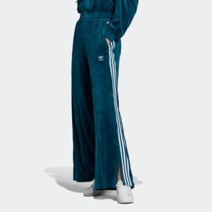 返品可 送料無料 アディダス公式 ウェア ボトムス adidas VELVET TRACK PANTS|adidas