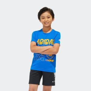 全品送料無料! 6/21 17:00〜6/27 16:59 返品可 アディダス公式 ウェア トップス adidas B TRN BRANDED Tシャツ|adidas