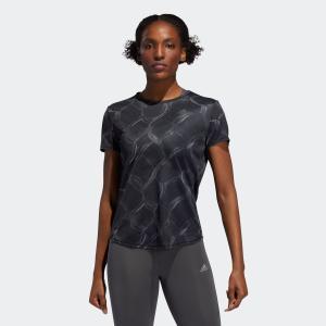 返品可 アディダス公式 ウェア トップス adidas オウン ザ ラン AOP TシャツW|adidas