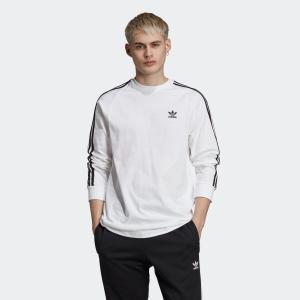 全品ポイント15倍 09/13 17:00〜09/17 16:59 返品可 アディダス公式 ウェア トップス adidas 3ストライプ 長袖Tシャツ|adidas