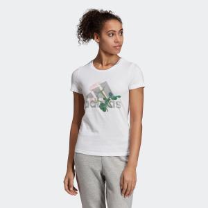 全品送料無料! 08/14 17:00〜08/22 16:59 返品可 アディダス公式 ウェア トップス adidas W MH ビッグロゴ フラワー Tシャツ|adidas
