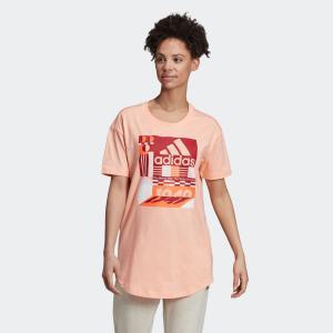 全品送料無料! 08/14 17:00〜08/22 16:59 返品可 アディダス公式 ウェア トップス adidas W MH グラフィック Tシャツ|adidas