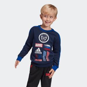 32%OFF アディダス公式 ウェア トップス adidas LB MARVEL スパイダーマン スウェットクルーネック|adidas