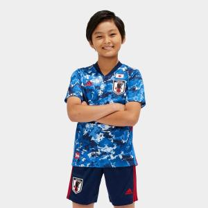 adidas(アディダス) / 日本代表チーム / (送料無料)adidas(アディダス)サッカー 日本代表 Kids サッカー日本代表 2020 ホームレプリカユニフォーム 半袖の商品画像|ナビ