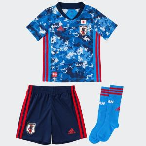 adidas(アディダス) / 日本代表チーム / (送料無料)adidas(アディダス)サッカー 日本代表 Kids サッカー日本代表 2020 ホームミニキット GEM15 ED7354の商品画像|ナビ