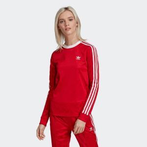 返品可 アディダス公式 ウェア トップス adidas スリーストライプ 長袖Tシャツ p0924|adidas
