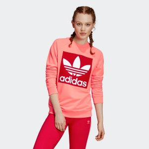 返品可 送料無料 アディダス公式 ウェア トップス adidas トレフォイル クルー スウェット p0924|adidas