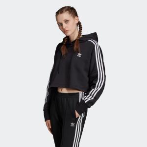 返品可 送料無料 アディダス公式 ウェア トップス adidas ショート丈パーカー|adidas