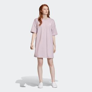 返品可 アディダス公式 ウェア オールインワン adidas TREFOIL DRESS p0924 adidas