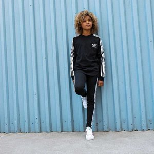 全品送料無料! 08/14 17:00〜08/22 16:59 返品可 アディダス公式 ウェア ボトムス adidas 3 STRIPES LEGGINGS|adidas