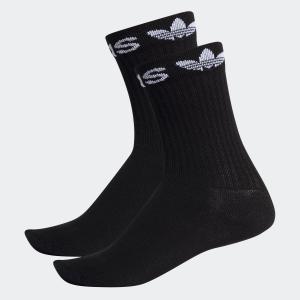 全品送料無料! 08/14 17:00〜08/22 16:59 返品可 アディダス公式 アクセサリー ソックス adidas LIN CUFF CREW SOCKS 2P|adidas