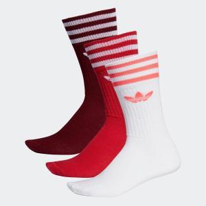 全品送料無料! 08/14 17:00〜08/22 16:59 返品可 アディダス公式 アクセサリー ソックス adidas SOLID CREW SOCKS|adidas