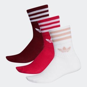 全品送料無料! 08/14 17:00〜08/22 16:59 返品可 アディダス公式 アクセサリー ソックス adidas MID CUT CREW SOCKS 3P|adidas