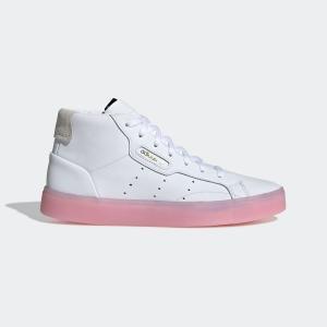 ポイント15倍 5/21 18:00〜5/24 16:59 返品可 送料無料 アディダス公式 シューズ スニーカー adidas アディダススリーク [adidas SLEEK MID W]|adidas