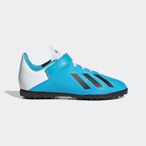 返品可 アディダス公式 シューズ スポーツシューズ adidas エックス 19.4 TF J ベルクロ / フットサル用 / ターフ用|adidas
