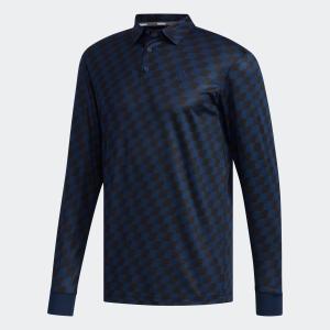 セール価格 アディダス公式 ウェア トップス adidas チェックプリント L/Sシャツ