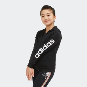 全品ポイント15倍 09/13 17:00〜09/17 16:59 返品可 アディダス公式 ウェア トップス adidas G ESSENTIALS スウェットフルジップパーカー|adidas