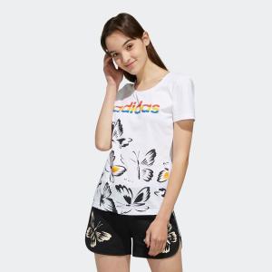 返品可 アディダス公式 ウェア トップス adidas W FARM P Tシャツ AOP|adidas