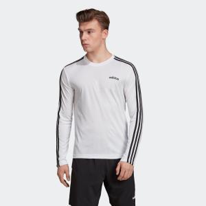 全品ポイント15倍 09/13 17:00〜09/17 16:59 返品可 アディダス公式 ウェア トップス adidas M D2M 3ストライプスロングスリーブTシャツ|adidas