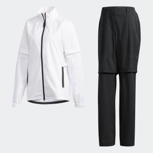 返品可 送料無料 アディダス公式 ウェア セットアップ adidas PF climastorm レインスーツ|adidas