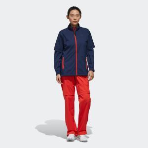 全品ポイント15倍 7/11 17:00〜7/16 16:59 返品可 送料無料 アディダス公式 ウェア セットアップ adidas PF クライマストーム レインスーツ【ゴルフ】|adidas