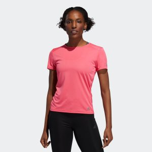 全品送料無料! 08/14 17:00〜08/22 16:59 返品可 アディダス公式 ウェア トップス adidas RUN 半袖TシャツW|adidas