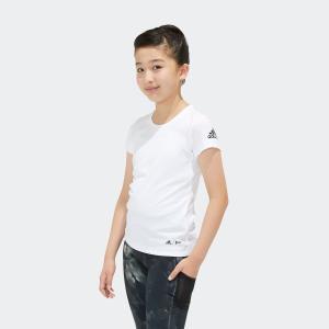 全品ポイント15倍 7/11 17:00〜7/16 16:59 返品可 アディダス公式 ウェア トップス adidas G TRN PARLEY Tシャツ|adidas